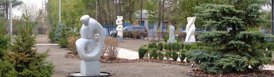 В Бобриці завершився Перший Міжнародний Скульптурний Симпозіум