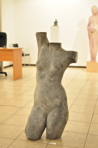 Чистий лист. Скульптура молодих