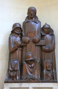 Ернст Барлах. Пам`ятник в Магдебургському соборі. 1929