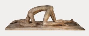 Скульптура Вільгельма Лембрука «Поборений»