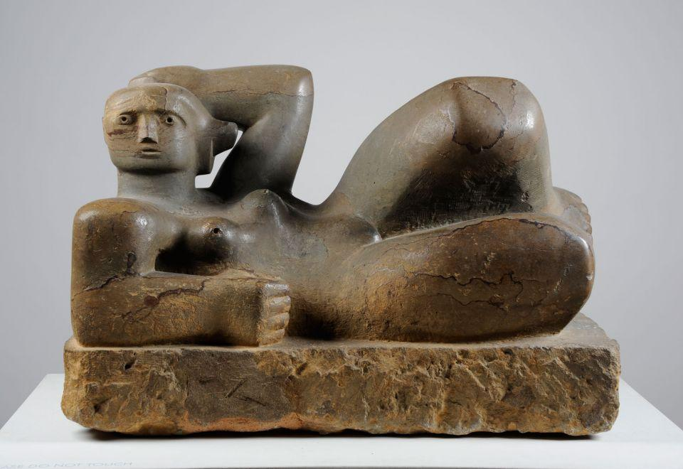 Фігура, що лежить. 1929. Камінь