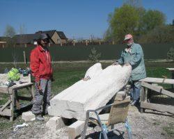 У Ходосівці добіг кінця міжнародний скульптурний симпозіум