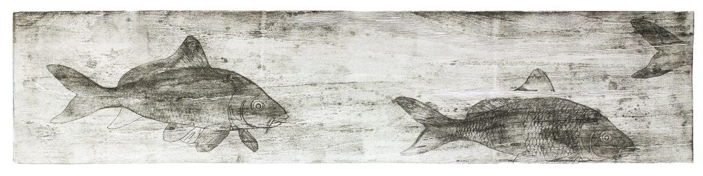 Коропи ІІ. Мокуліто, папір. 2017. 30 х 110 см