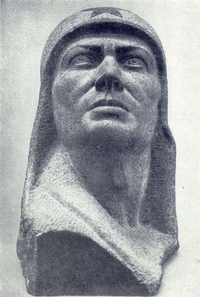 П.М. Ульянов. Червоноармієць. 1933. 61х45х41. НХМУ