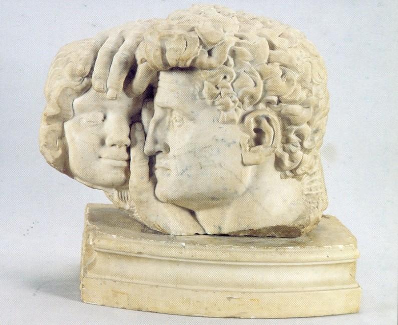 І.В. Макогон. Скульптор І.Д. Левицький. 1934. Мармур. 32х45х25. НХМУ