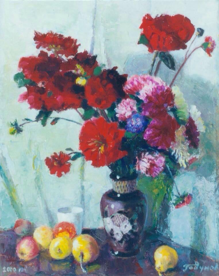 О. Годунов. Жоржини. 2000