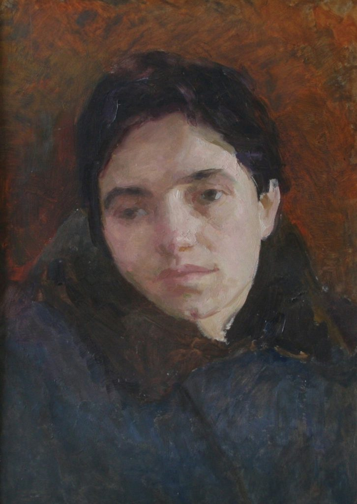 Олекса Захарчук. Портрет Галини Григор`євої. 1955