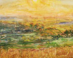 """Виставка Анатолія Лимарєва в аукціонному домі """"Дукат"""": пробудження стихії коліру"""