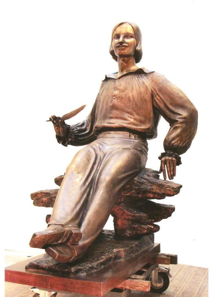 Портретна скульптура Миколи Гоголя