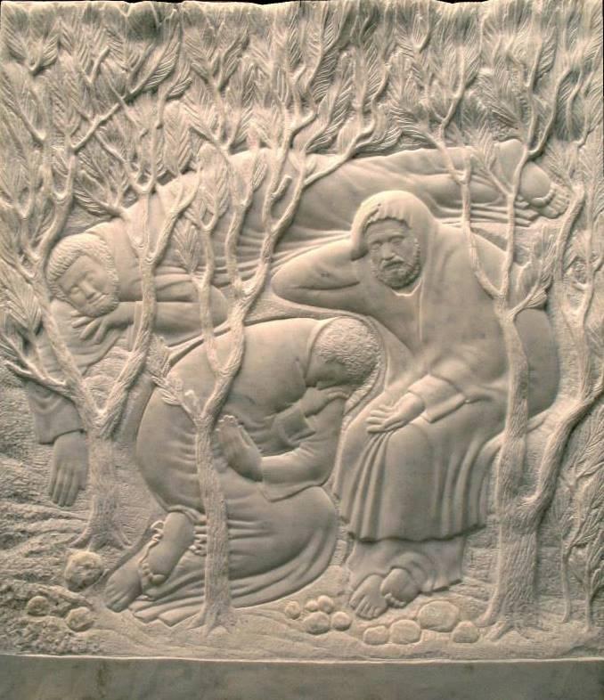 Моління про чашу. 2002–2008. Мармур. Реверс