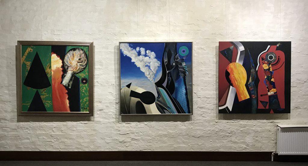 Живописні твори Олександра Дубовика
