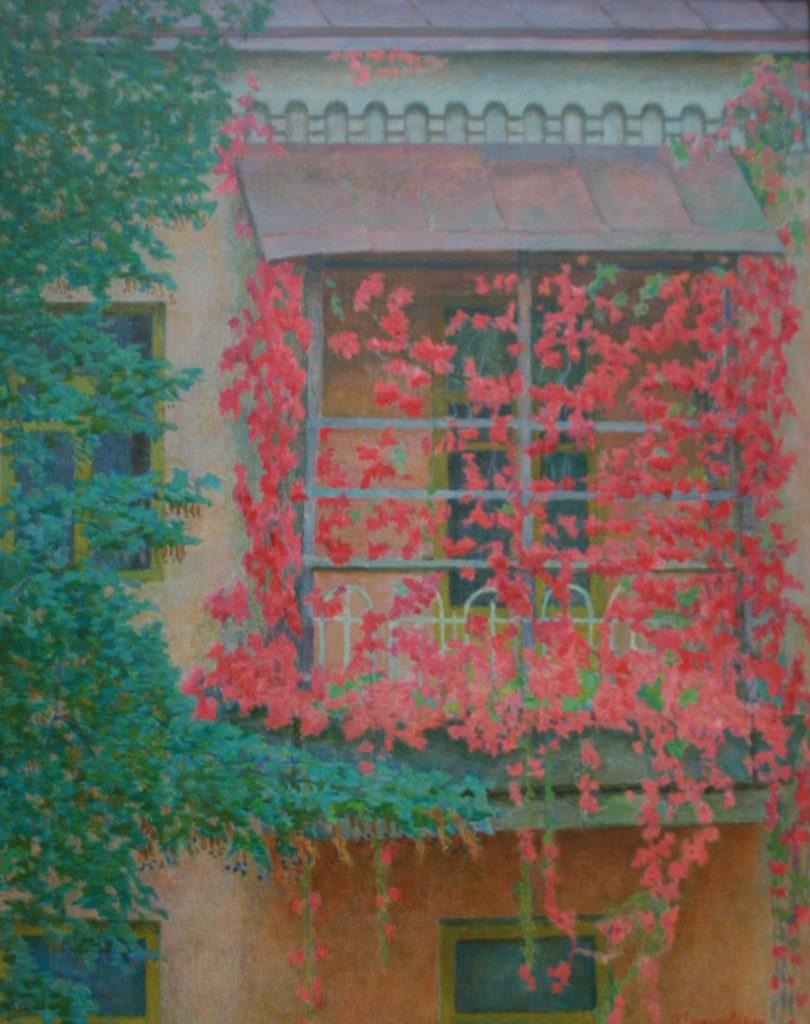 О. Єржиковський. Червоний балкон