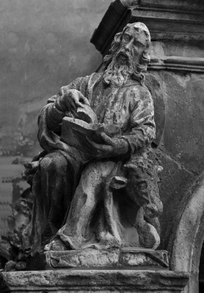"""Невідомий скульптор. """"Гроб Христовий"""". Євангеліст Лука"""