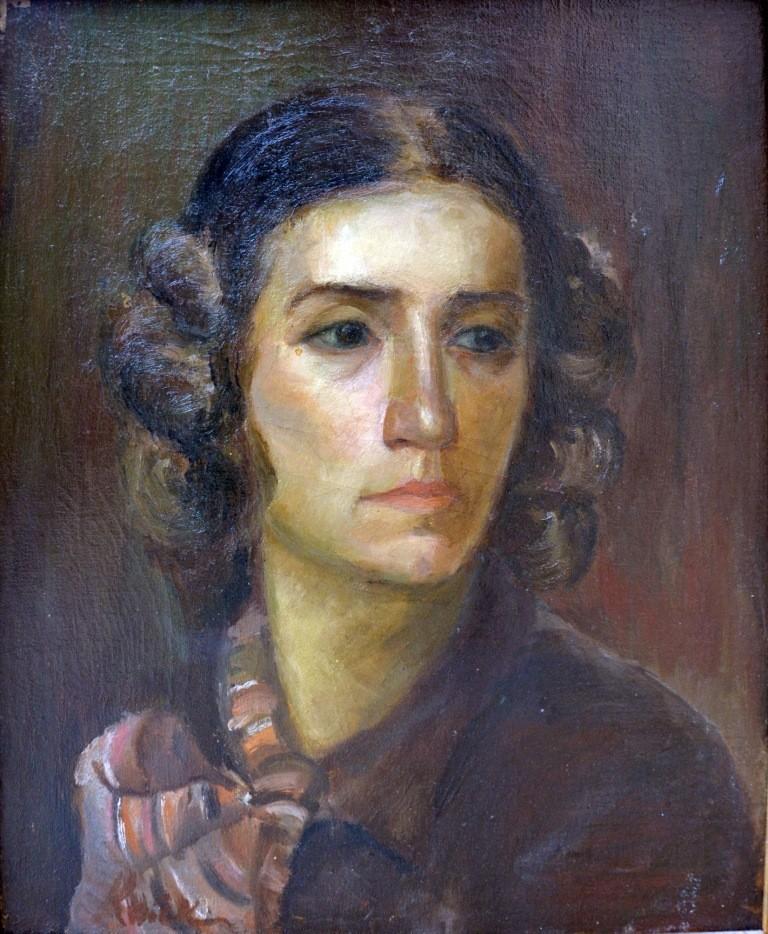 Н. Котек. Автопортрет 1937