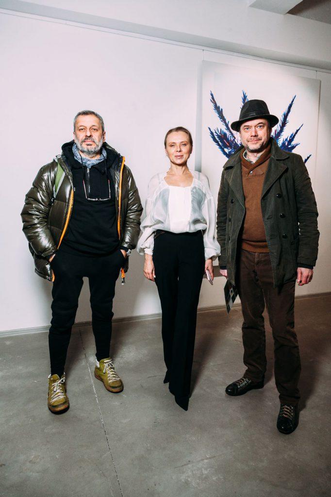 Тетяна Міронова та гості виставки