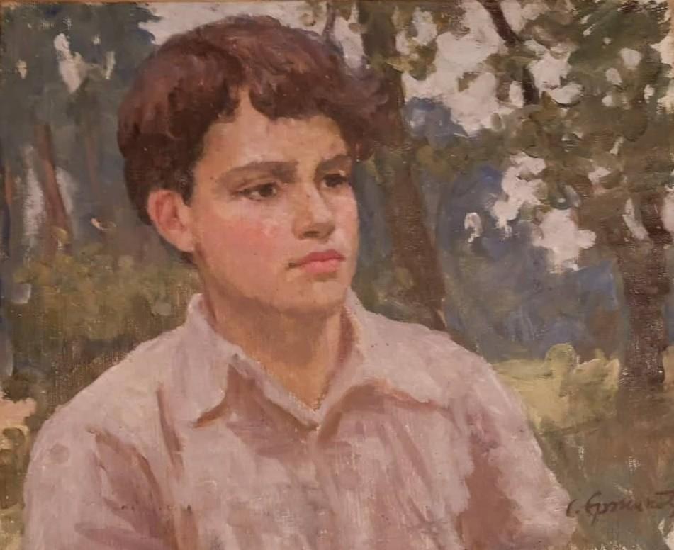 C. Єржиковський. Портрет І. Чамати